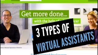 Download 3 Types of Virtual Assistant Services Video