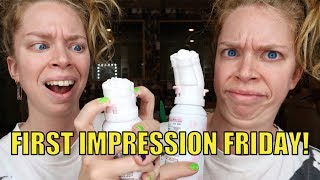 Download ROSE SHAPED FACE WASH! - FIRST IMPRESSION FRIDAY Video