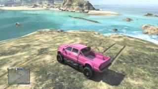 Download Grand Theft Auto V - Offroad Mudding Island Jumping (XBOX 360) Video