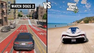Download Gta 5 vs Watch Dogs 2 | COMPARISON | Video