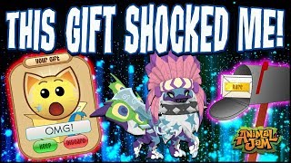 Download This Gift Shocked Me on Animal Jam! Very Rare Item! Video