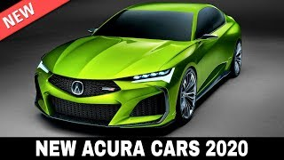 Download 7 New Acura Cars Presented in the Upmarket Model Lineup of 2020 Video