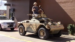 Download I Drove an Armored Military Vehicle Around Suburban Nashville Video