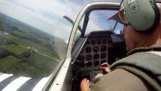 Download CAF Dixie Wing P-51 Mustang ″Red Nose″ In-Cockpit *HD Video