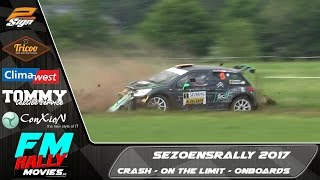Download Sezoensrally 2017 | CRASH - ON THE LIMIT - ONBOARD [HD] Video