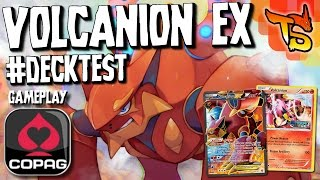 Download ✪ Pokémon TCG - Volcanion/Volcanion EX Deck! (Gameplay COPAG) #DECKTEST Video