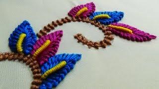 Handi Stitch Nakshi Katha Stitch Leaf Stitch Free Download Video