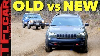 Download Old vs New Jeep Cherokee: How Much Has Off-Road Tech Improved in 28 Years? Video