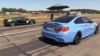 Download 710HP BMW M4 F82 w/ Milltek Exhaust vs 720HP Mclaren 650S Video