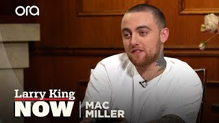 Download Mac Miller Dropped 170K On What!? | Larry King Now | Ora.TV Video