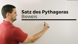 Download Satz des Pythagoras, Beweis der Formel mittels Quadrat | Mathe by Daniel Jung Video