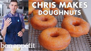 Download Chris Makes Doughnuts | From the Test Kitchen | Bon Appétit Video