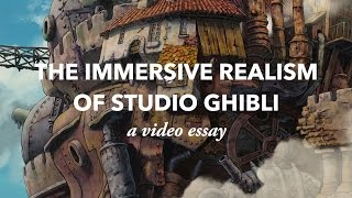Download The Immersive Realism of Studio Ghibli Video