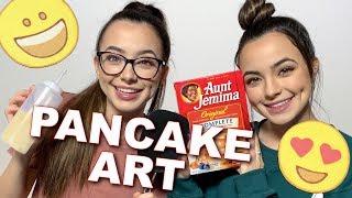 Download Pancake Art Challenge - Merrell Twins LIVE Video