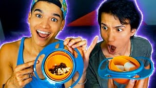 Download UNSPILLABLE BOWL! WILL IT SPILL?! Video