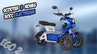 Download TEST 12 : GOOD YEAR EGO 2 - Scooter à 3 roues 50cc !!! Video