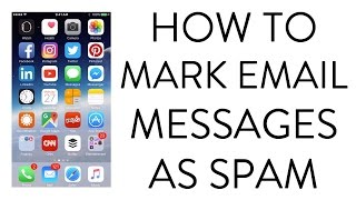 Download HOW TO MARK EMAIL MESSAGES AS SPAM ON IPHONE Video