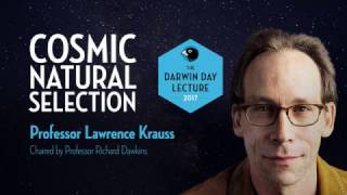 Download The Darwin Day Lecture 2017, with Lawrence Krauss | Cosmic Natural Selection Video