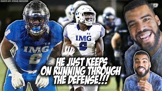 Download #1 Running Back In The Class Of 2019 RUNS THROUGH 7 DEFENDERS!!!- Trey Sanders Highlights [Reaction] Video