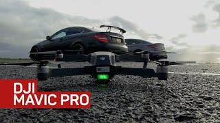 Download Can DJI's Mavic drone fly with the pros? Video