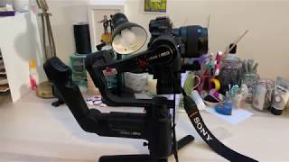 Download Zhiyun Crane 3 Lab Unboxing, Initial impressions + test setup with A7iii Video