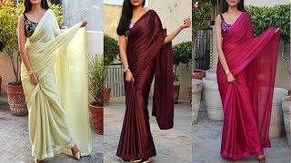 Download Saree के Colour Combination || Contrast Combination Blouse & Saree Video