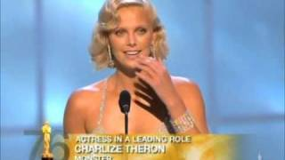 Download Charlize Theron winning Best Actress for ″Monster″ Video
