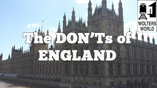 Download Visit England - The DON'Ts of Visiting England Video