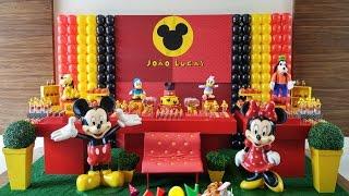 Download Decoração de Festa Mickey e Minnie Video