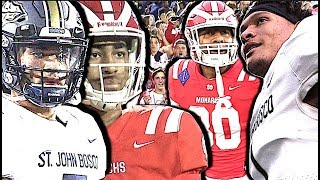 Download St. John Bosco v Mater Dei SQUARE OFF for #1 Team in the Nation | Highlight Mix Video