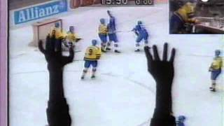 Download Ishockey-VM 1991-04-20: Sverige-Finland (SWE-FIN) 4-4 Video