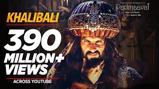 Download Padmaavat: Khalibali - Ranveer Singh   Deepika Padukone   Shahid Kapoor   Shivam Pathak Video