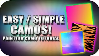 Download BO3 ″SIMPLE CAMOS″ Paintjob Tutorials! (EASY CAMOS v2) [BO3 BEST CAMO/PAINTJOBS!] [BETTER/UPDATED] Video