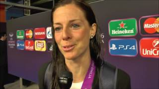 Download Lotta Schelin after VfL Wolfsburg - Olympique Lyonnais on 26.05.2016 Video