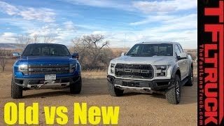 Download Old vs New: 2017 Ford Raptor vs 2014 SVT Raptor Review: Which Truck Is Better? Video