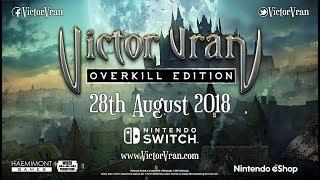 Download Victor Vran: Overkill Edition Nintendo Switch Release Date Announcement PEGI Video