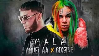 Download Anuel AA Ft. 6ix9ine - Mala. (Letra) Oficial. Video