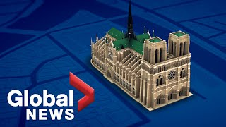 Download Virtual tour of Notre Dame's storied architecture Video