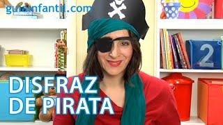 Download Cómo hacer un disfraz de pirata para niños. Manualidad de Carnaval Video