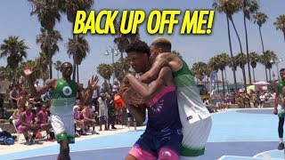 Download Shareef O'Neal GETS HEATED at defender Back Up Off Me & Goes to WORK! Video
