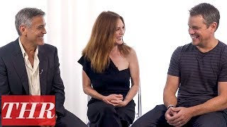 Download George Clooney, Julianne Moore, & Matt Damon Talk 'Suburbicon,' All About Poor Choices & Blame | THR Video