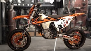 Download KTM 450 2018 Supermoto project Video