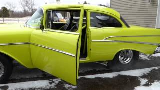 Download 57 chevy pro street Video