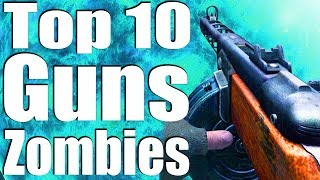 Download TOP 10 GUNS IN ZOMBIES OF ALL TIME. Video