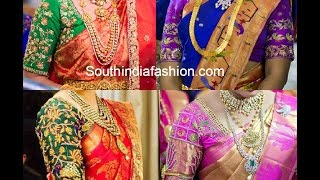 Download Blouse Designs for Pattu Sarees Video