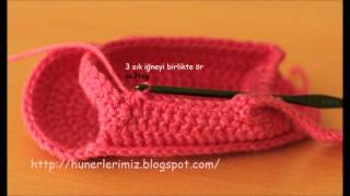 Download How to Crochet Baby Sandals - Bebeklere Sandalet Patik Yapılışı Video