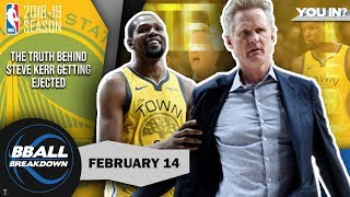 Download Kerr Gets Himself Ejected Once Trail Blazers Solve The Warriors Video