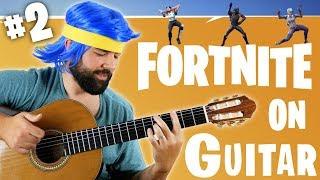 Download FORTNITE DANCES ON GUITAR (PART 2) Video