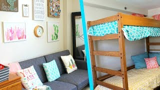 Download Megan and Ciera's College Dorm Tour Video