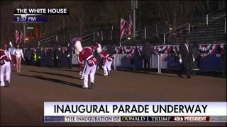 Download Talledega College Marching Tornadoes Band 2017 Donald Trump Inauguration Parade In Washington DC Video